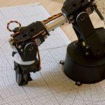 RobotArmWithCalibrationGrid