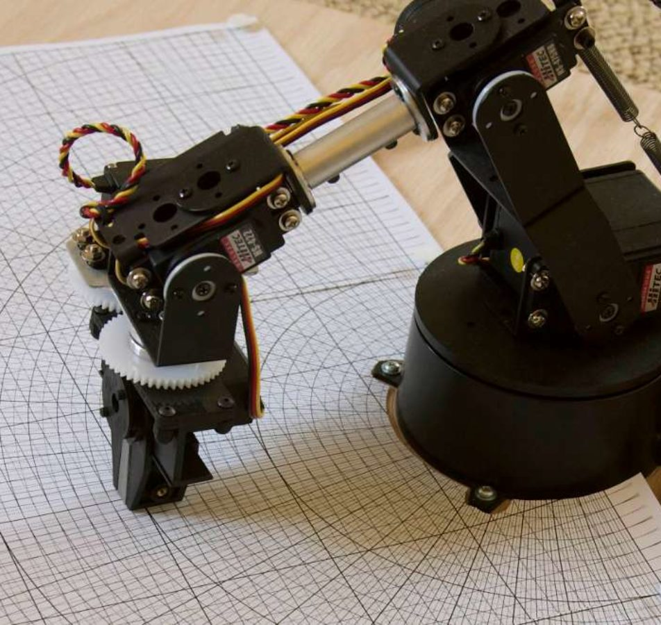 Real-Time Control of an Anthropomorphic Robotic Arm with Altera FPGA